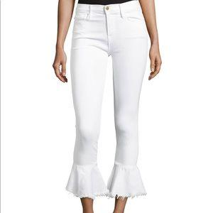 "FRAME White Jeans ""Le Skinny de Jeanne"""